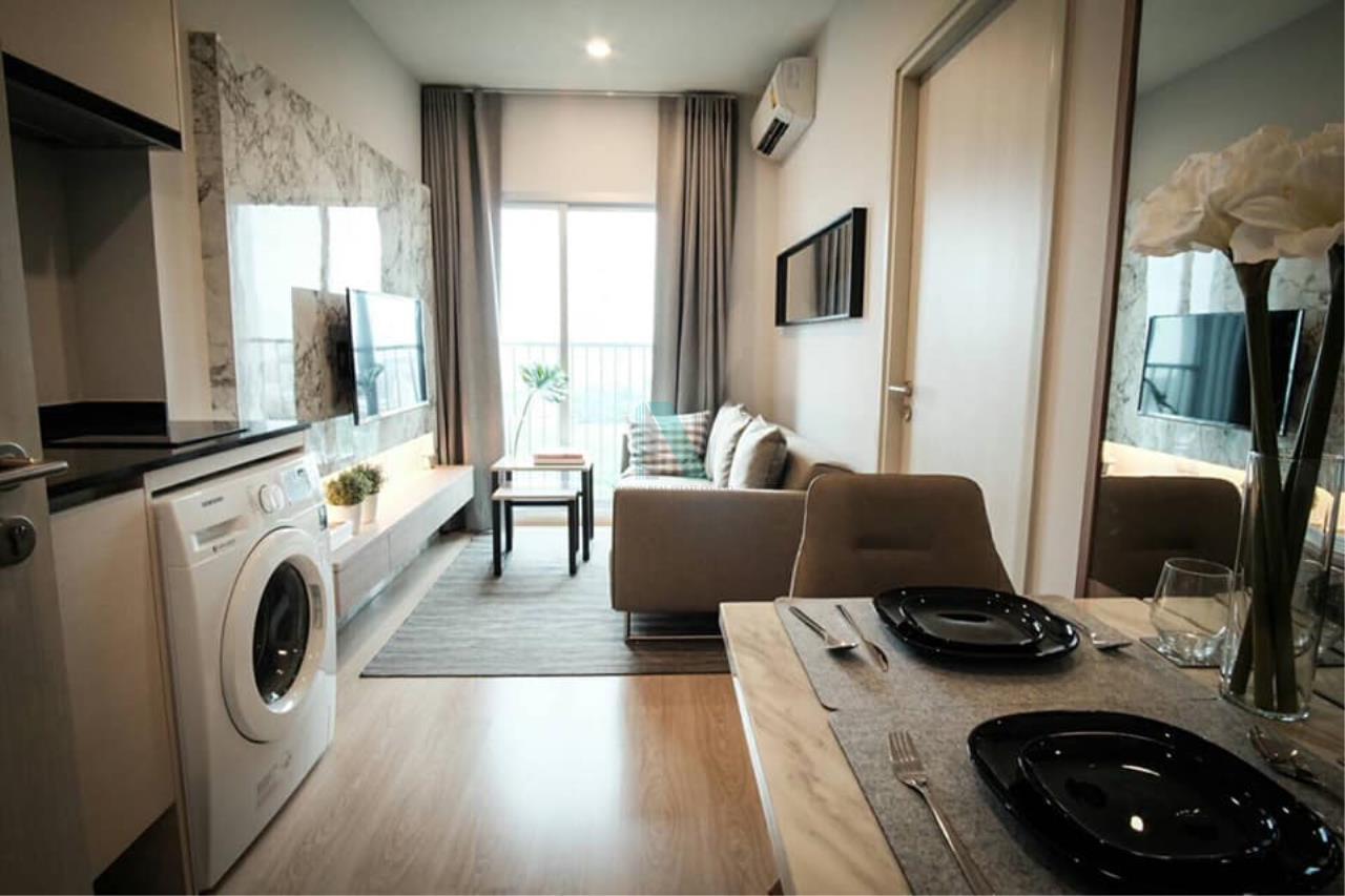 NOPPON REAL ESTATE CO.,LTD.  Agency's For rent Noble Revolve Ratchada 1 bedroom 14th floor . 3