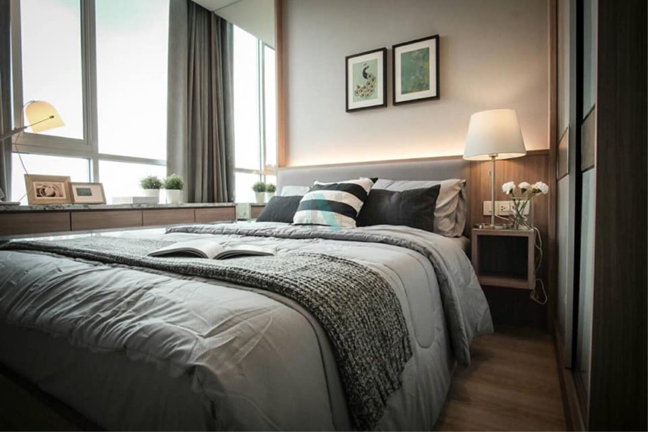 NOPPON REAL ESTATE CO.,LTD.  Agency's For rent Noble Revolve Ratchada 1 bedroom 14th floor . 5