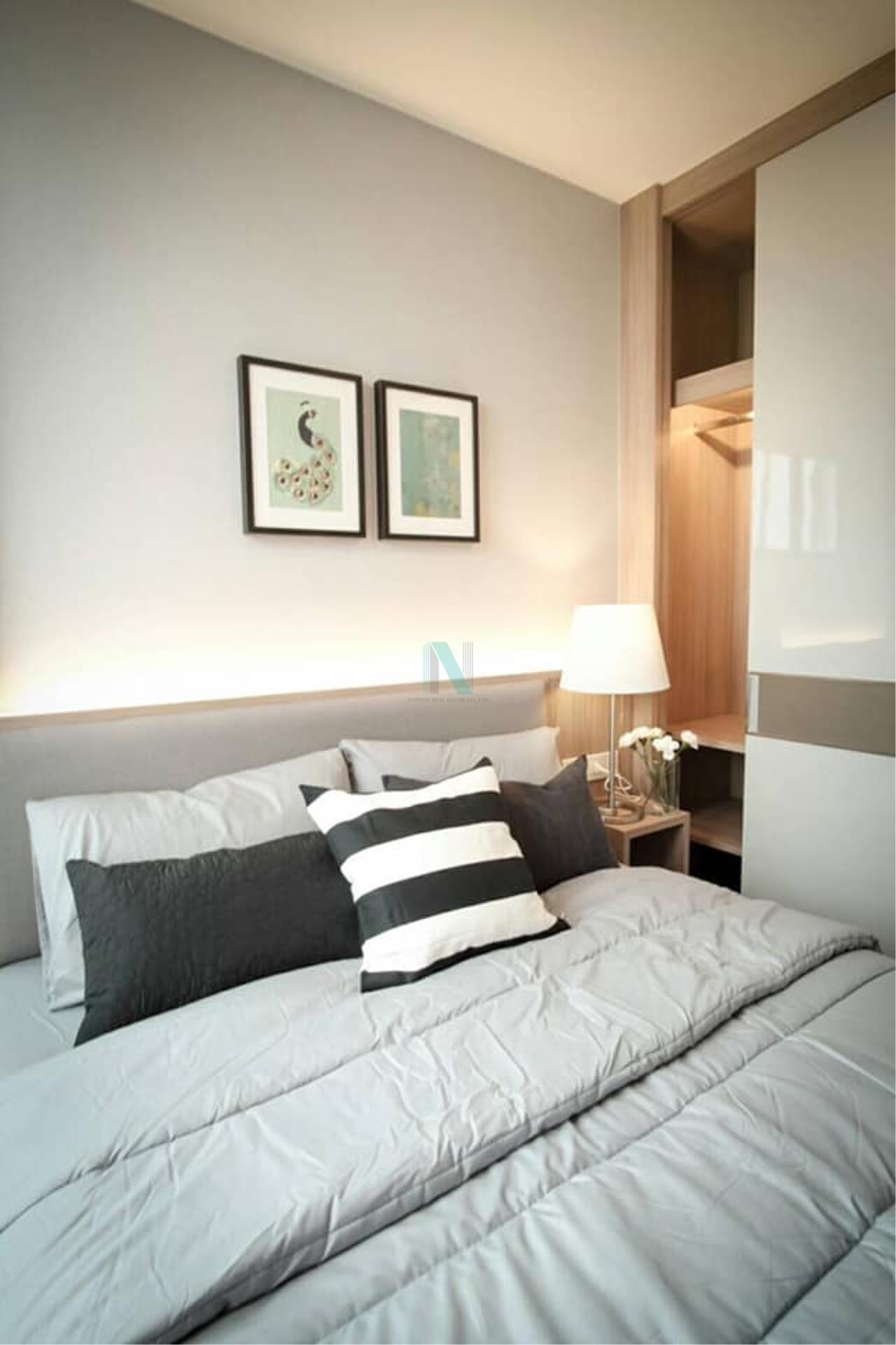 NOPPON REAL ESTATE CO.,LTD.  Agency's For rent Noble Revolve Ratchada 1 bedroom 14th floor . 6