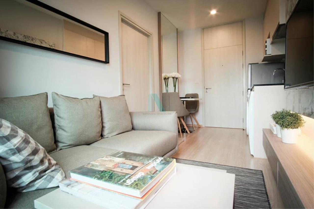 NOPPON REAL ESTATE CO.,LTD.  Agency's For rent Noble Revolve Ratchada 1 bedroom 14th floor . 7