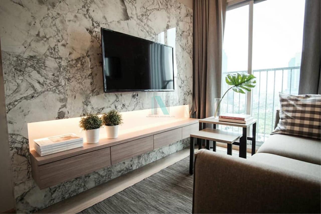 NOPPON REAL ESTATE CO.,LTD.  Agency's For rent Noble Revolve Ratchada 1 bedroom 14th floor . 8