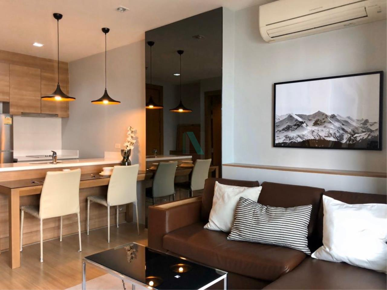NOPPON REAL ESTATE CO.,LTD.  Agency's For rent Rhythm Ratchada-Huay Kwang 1 bedroom 23th floor. 4