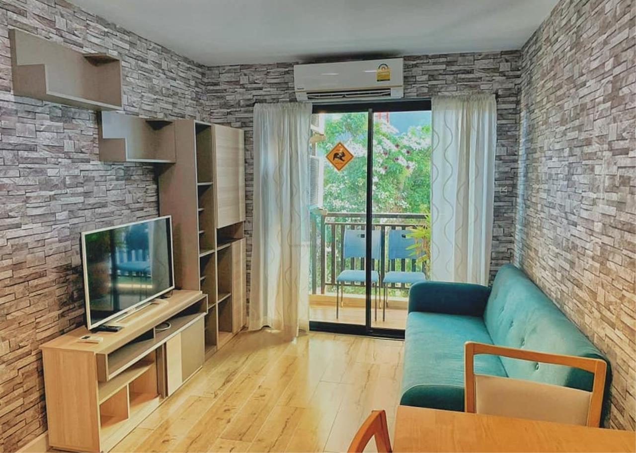 NOPPON REAL ESTATE CO.,LTD.  Agency's For rent YENSABAIDEE CONDO 1 bedroom 5th floor near MRT Lat Phrao. 1