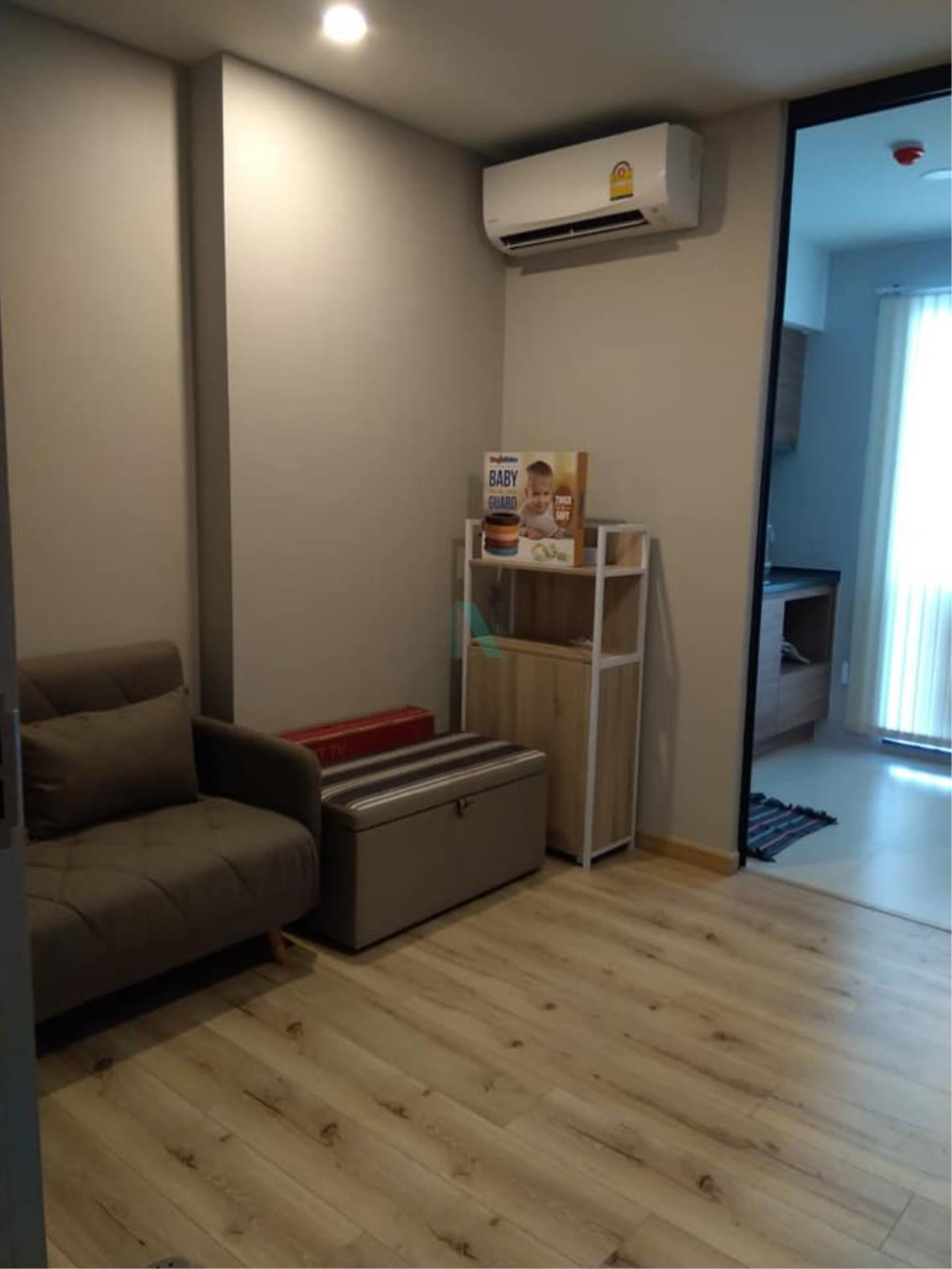 NOPPON REAL ESTATE CO.,LTD.  Agency's For rent BRIX CHARANSANITWONG 64 1 bedroom 18th floor . 3