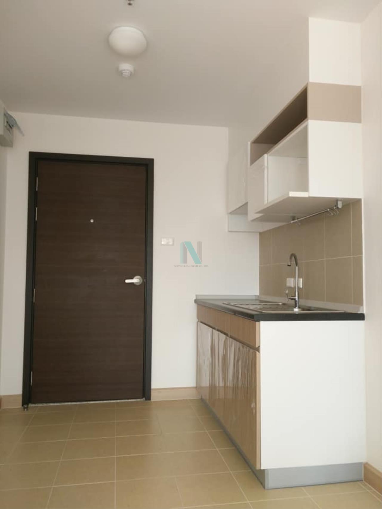 NOPPON REAL ESTATE CO.,LTD. Agency's For rent Supalai Veranda Rama 9 Studio Floor 30 Building B. 3