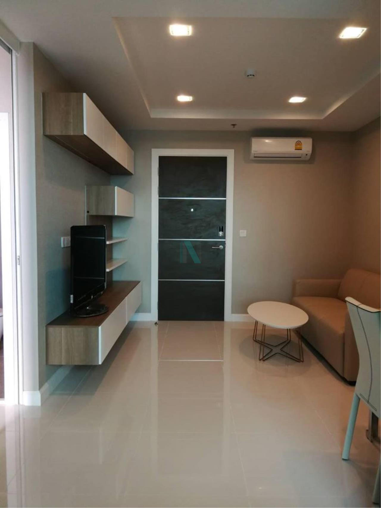 NOPPON REAL ESTATE CO.,LTD. Agency's For Rent The Metropolis Samrong Interchange 1 Bedroom 19th Floor Building A. 1