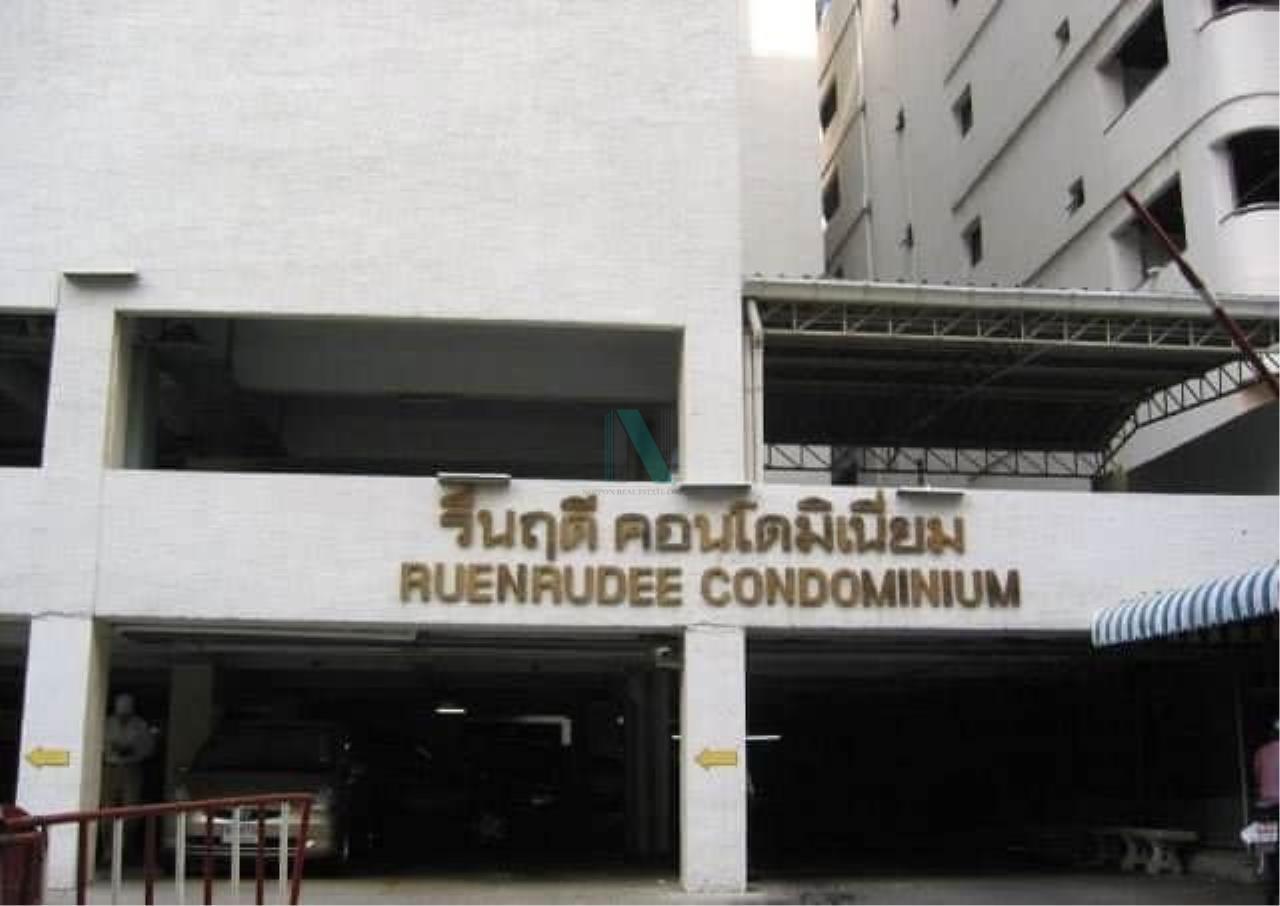 NOPPON REAL ESTATE CO.,LTD. Agency's For rent RUENRUDEE CONDOMINIUM 2 bedroom 8th floor. 8