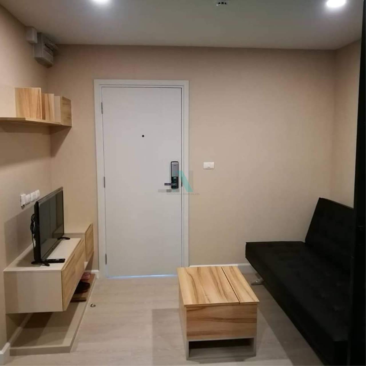 NOPPON REAL ESTATE CO.,LTD. Agency's For rent The Cube Plus Min Buri 1 bedroom 2nd floor Building A. 1