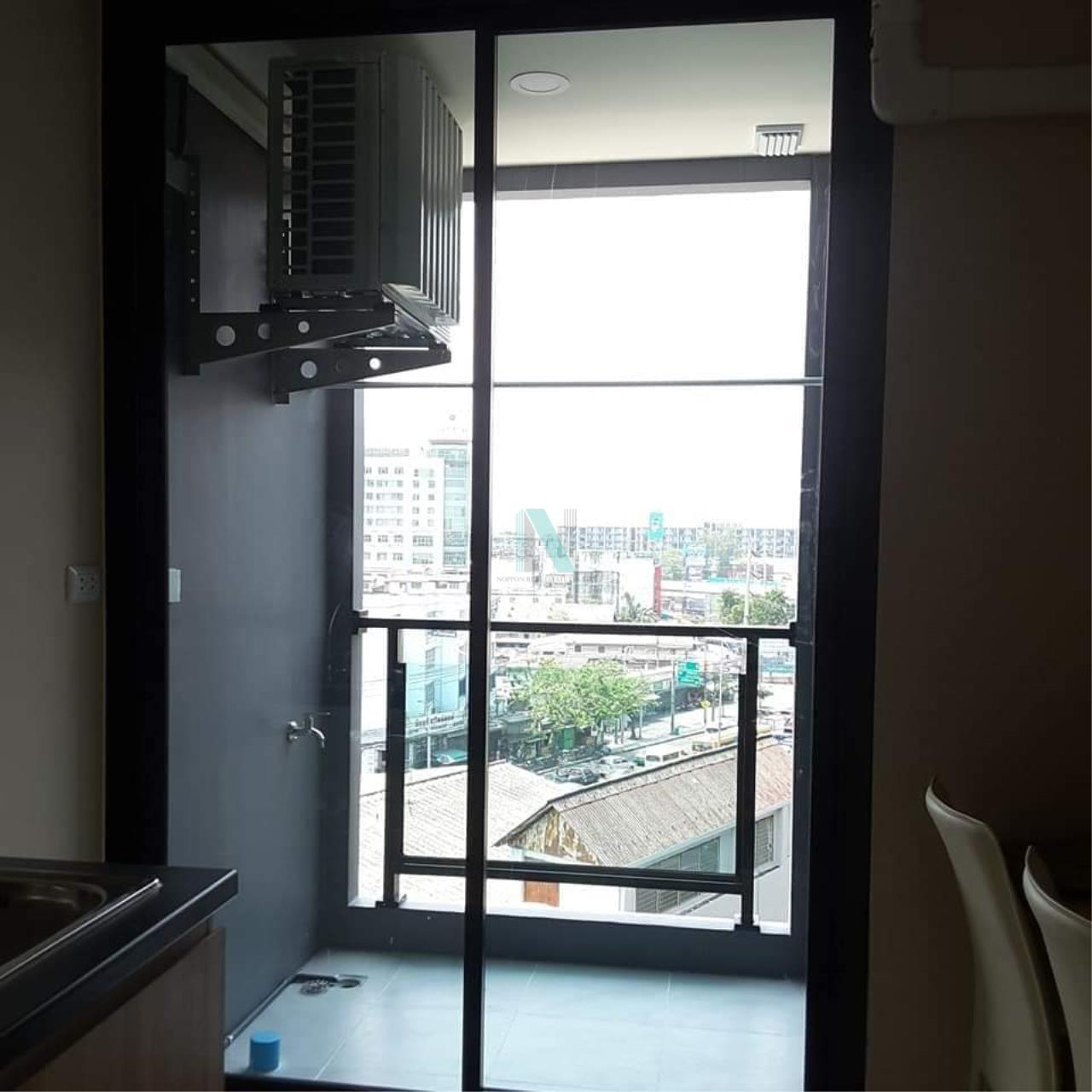 NOPPON REAL ESTATE CO.,LTD. Agency's For rent The Cube Plus Min Buri 1 bedroom 2nd floor Building A. 2