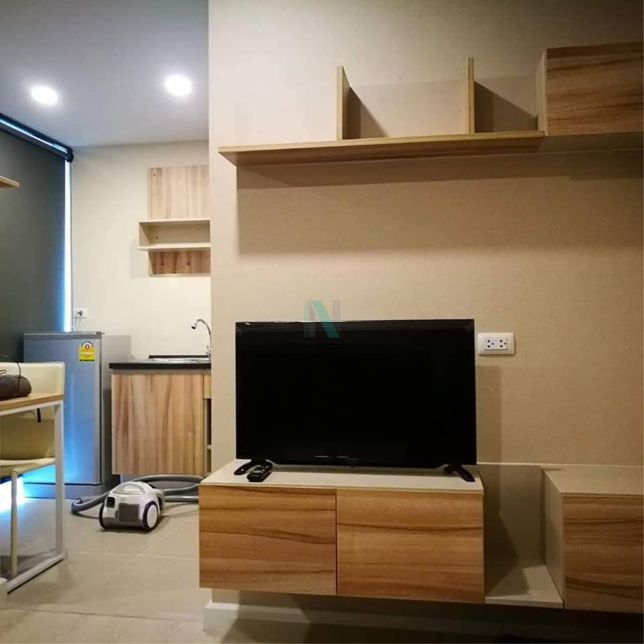 NOPPON REAL ESTATE CO.,LTD. Agency's For rent The Cube Plus Min Buri 1 bedroom 2nd floor Building A. 4