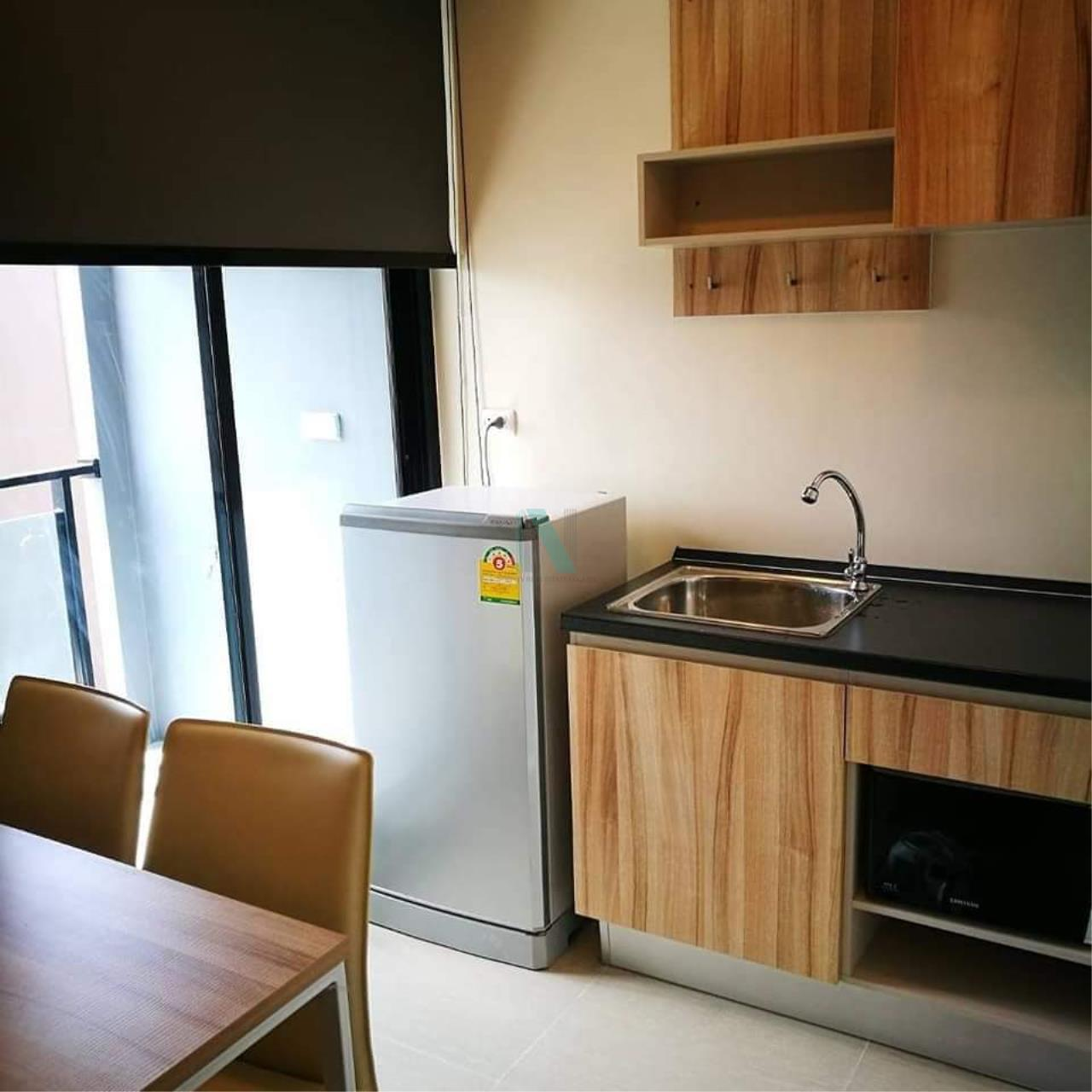 NOPPON REAL ESTATE CO.,LTD. Agency's For rent The Cube Plus Min Buri 1 bedroom 2nd floor Building A. 5