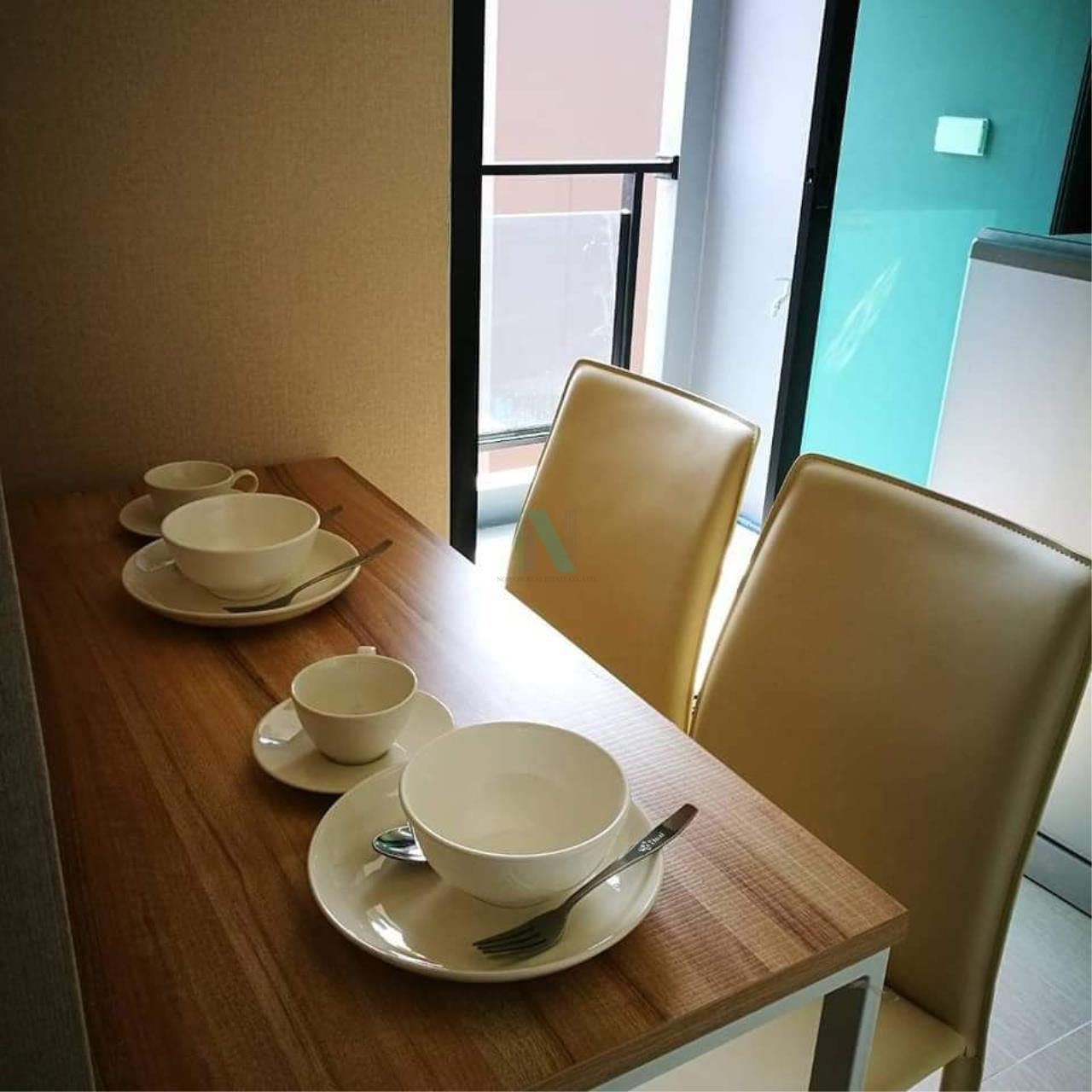 NOPPON REAL ESTATE CO.,LTD. Agency's For rent The Cube Plus Min Buri 1 bedroom 2nd floor Building A. 7