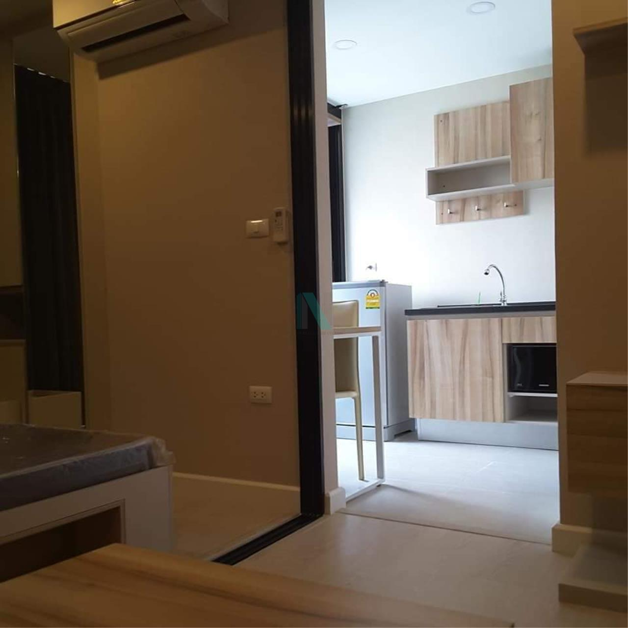 NOPPON REAL ESTATE CO.,LTD. Agency's For rent The Cube Plus Min Buri 1 bedroom 2nd floor Building A. 8