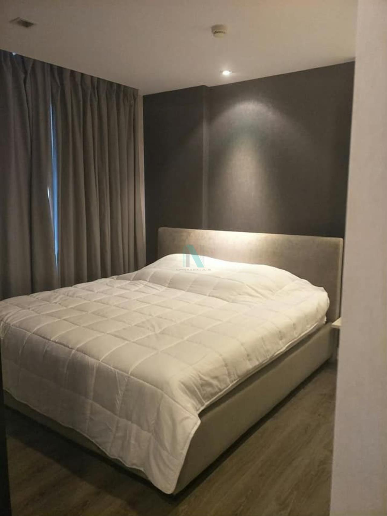 NOPPON REAL ESTATE CO.,LTD.  Agency's For rent The Room Sukhumvit 40 1 bedroom 8th floor near BTS Ekkamai. 2