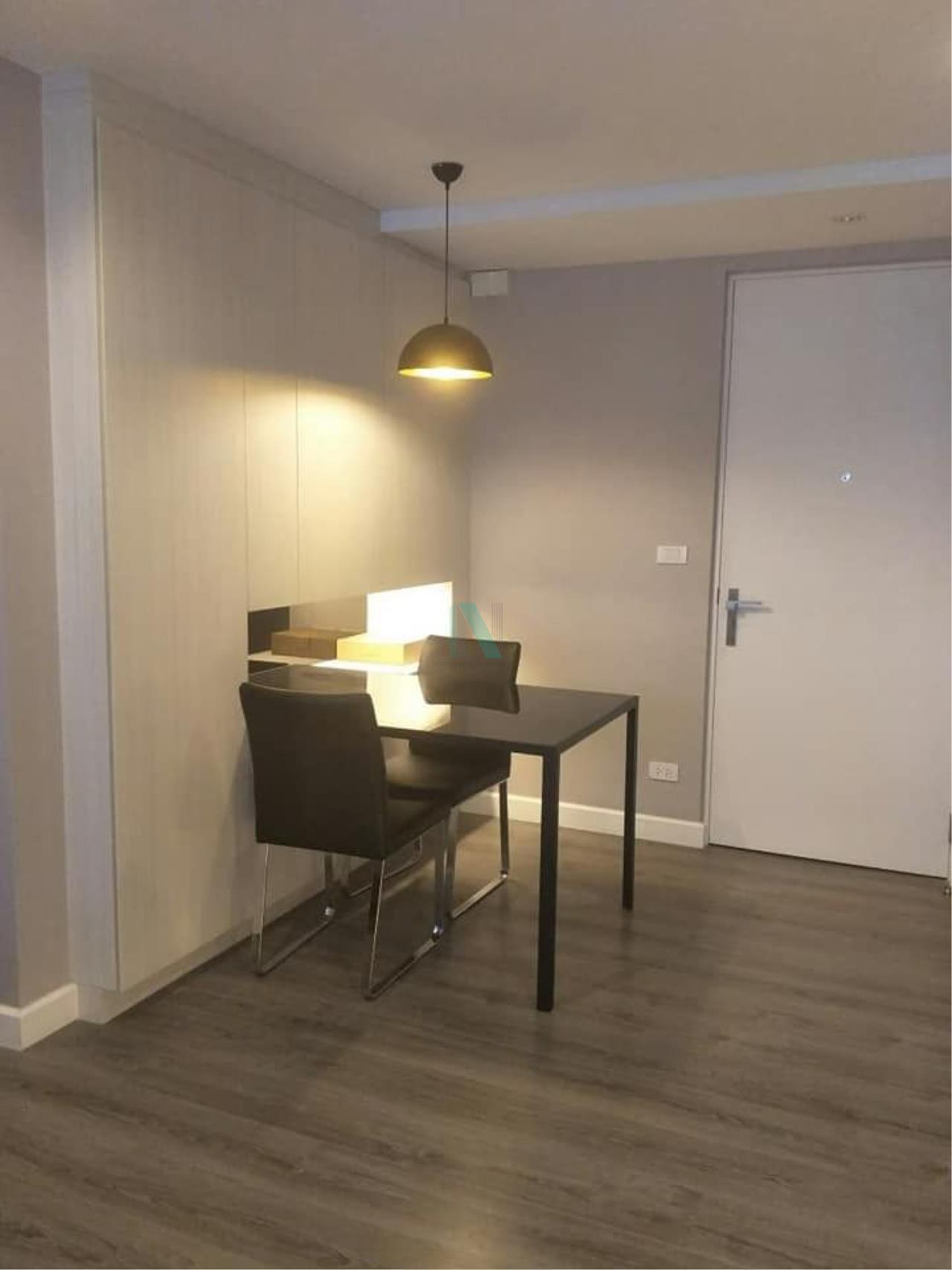 NOPPON REAL ESTATE CO.,LTD.  Agency's For rent The Room Sukhumvit 40 1 bedroom 8th floor near BTS Ekkamai. 7