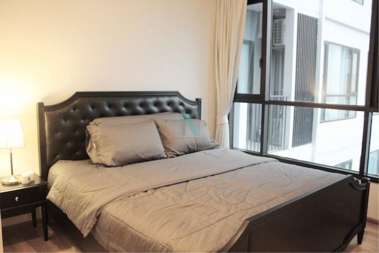 NOPPON REAL ESTATE CO.,LTD.  Agency's For Rent Fuse Sathorn-Taksin 1 Bedroom 24th Floor near BTS Wongwian Yai. 6