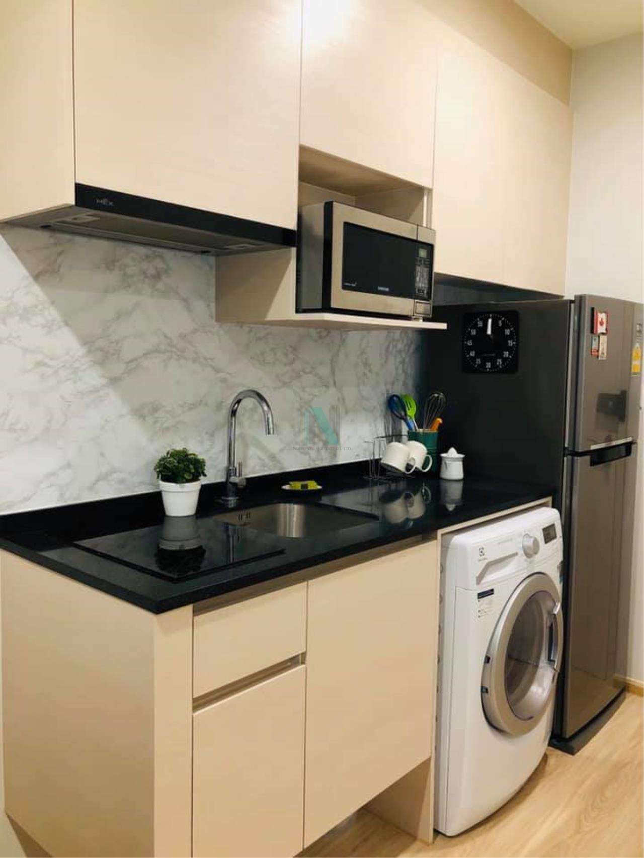 NOPPON REAL ESTATE CO.,LTD. Agency's For rent Noble Revolve, Ratchada 2 2 bedrooms 22nd floor. 3