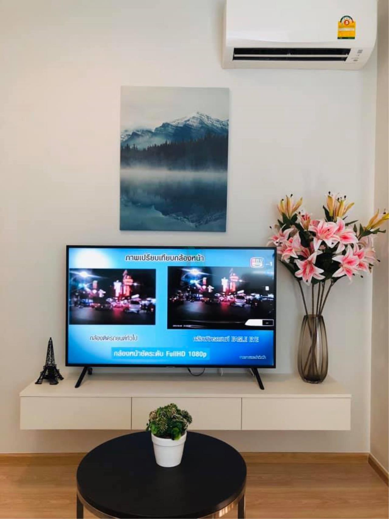 NOPPON REAL ESTATE CO.,LTD. Agency's For rent Noble Revolve, Ratchada 2 2 bedrooms 22nd floor. 4
