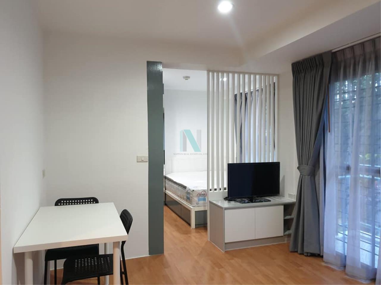 NOPPON REAL ESTATE CO.,LTD. Agency's For rent Parkview Vibhavadi 1 bedroom 1st floor Building B4. 5