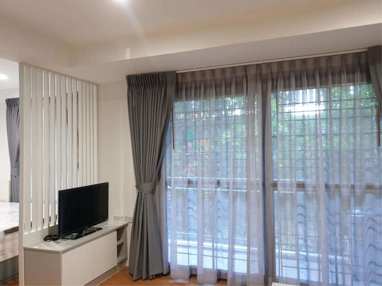NOPPON REAL ESTATE CO.,LTD. Agency's For rent Parkview Vibhavadi 1 bedroom 1st floor Building B4. 6