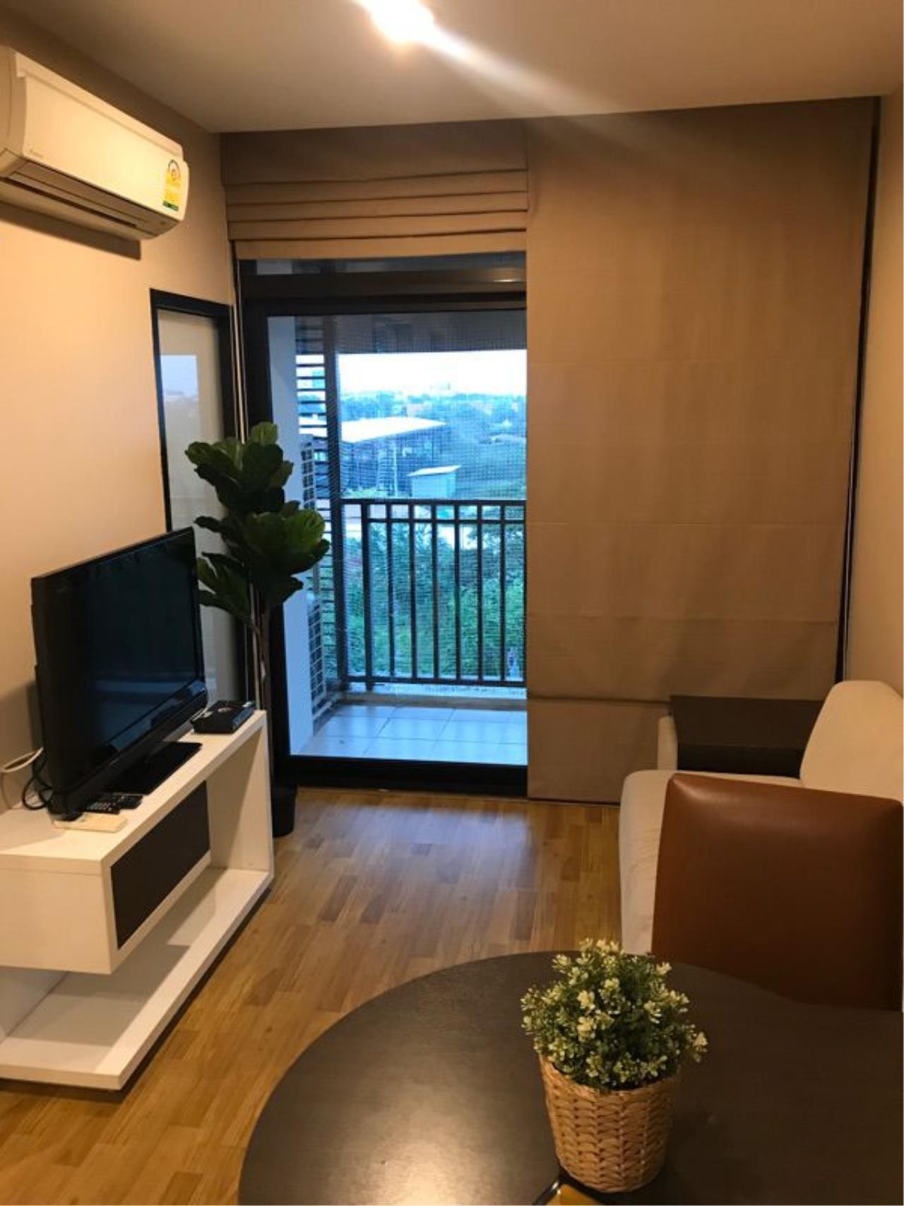 NOPPON REAL ESTATE CO.,LTD. Agency's For rent Baan Navathara Kaset-Nawamin 1 bedroom 6th floor Building B. 1