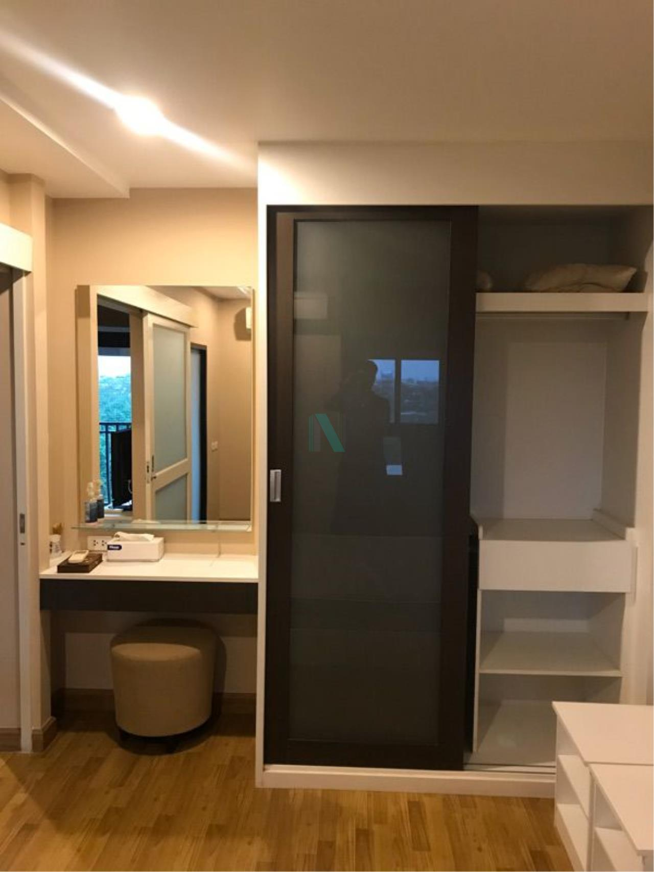NOPPON REAL ESTATE CO.,LTD. Agency's For rent Baan Navathara Kaset-Nawamin 1 bedroom 6th floor Building B. 4