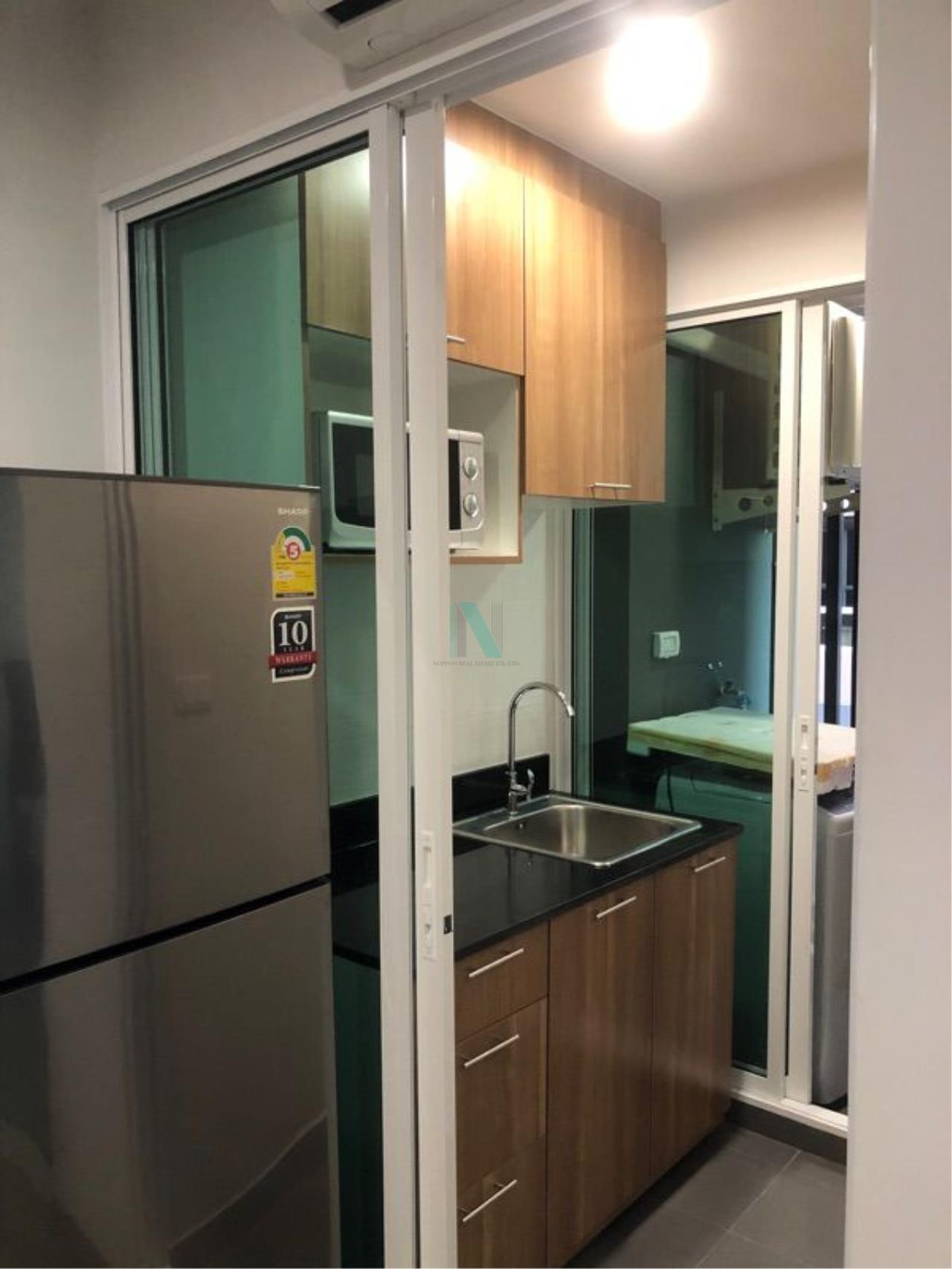 NOPPON REAL ESTATE CO.,LTD. Agency's For rent Regent Home Sukhumvit 97/1 1 bedroom 8th floor Building E. 3