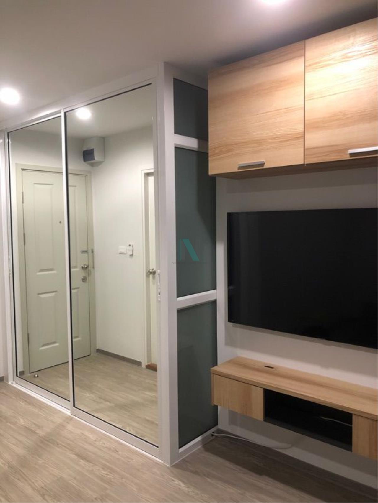 NOPPON REAL ESTATE CO.,LTD. Agency's For rent Regent Home Sukhumvit 97/1 1 bedroom 8th floor Building E. 5