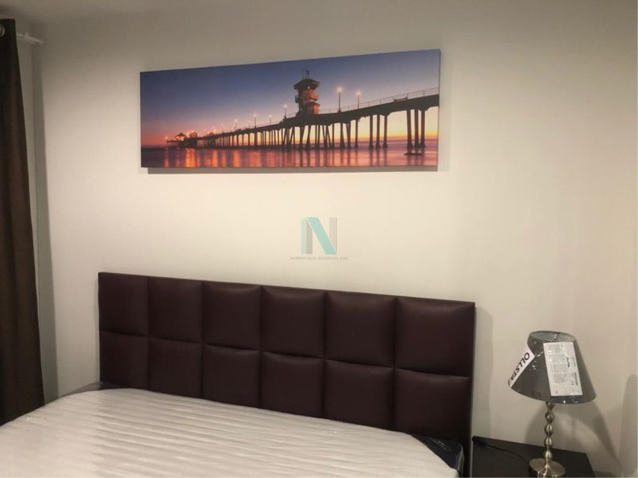 NOPPON REAL ESTATE CO.,LTD. Agency's For rent Regent Home Sukhumvit 97/1 1 bedroom 8th floor Building E. 6