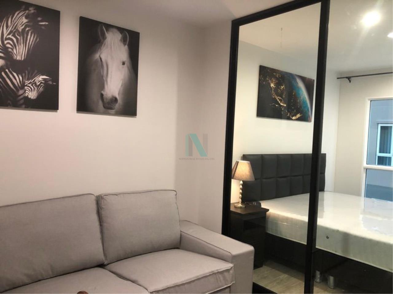 NOPPON REAL ESTATE CO.,LTD. Agency's For rent Regent Home Sukhumvit 97/1 1 bedroom 4th floor Building C. 1