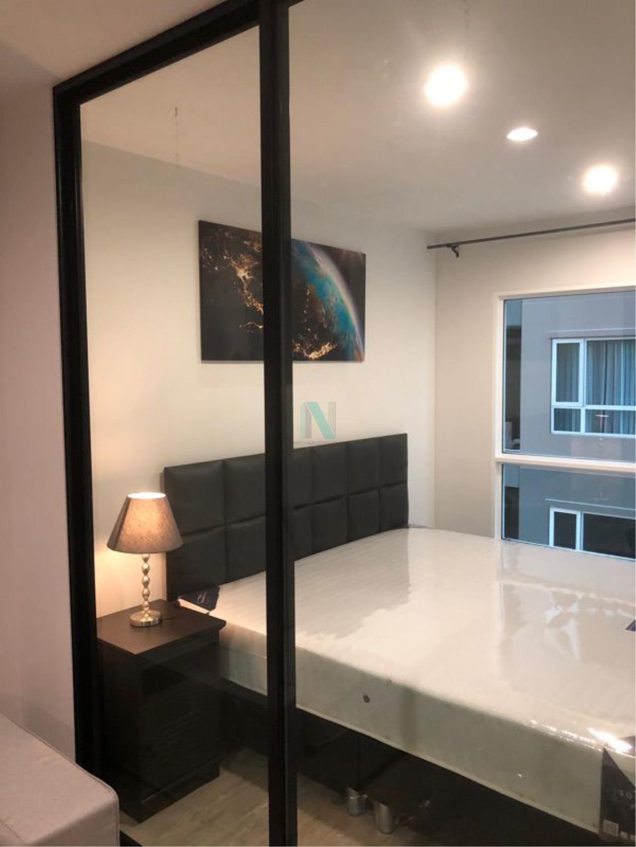 NOPPON REAL ESTATE CO.,LTD. Agency's For rent Regent Home Sukhumvit 97/1 1 bedroom 4th floor Building C. 6