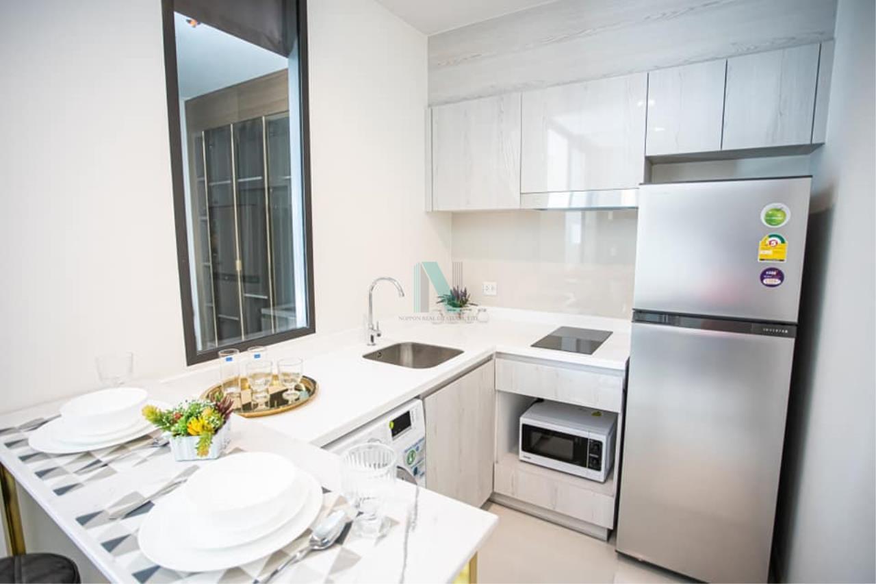 NOPPON REAL ESTATE CO.,LTD. Agency's For rent Life One Wireless 1 bedroom 15th floor near BTS Ploenchit. 4