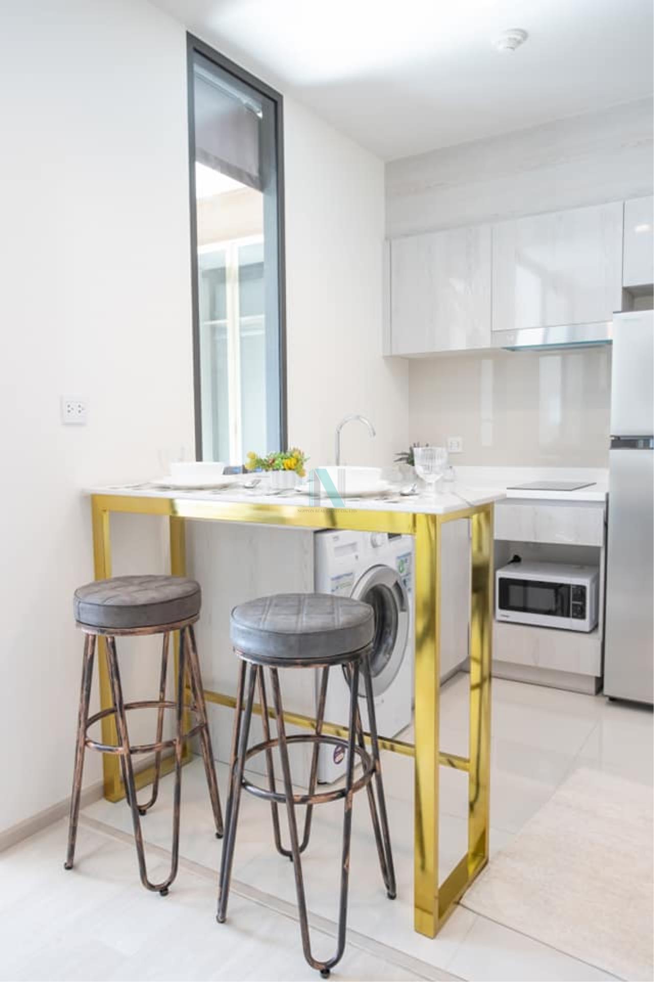 NOPPON REAL ESTATE CO.,LTD. Agency's For rent Life One Wireless 1 bedroom 15th floor near BTS Ploenchit. 6