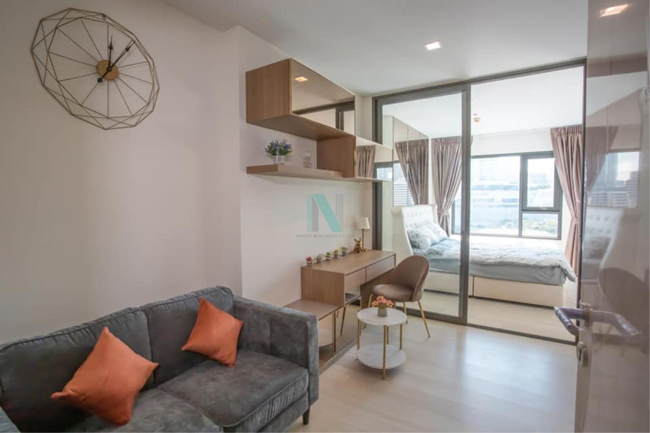 NOPPON REAL ESTATE CO.,LTD. Agency's For rent Life One Wireless 1 bedroom 15th floor near BTS Ploenchit. 8