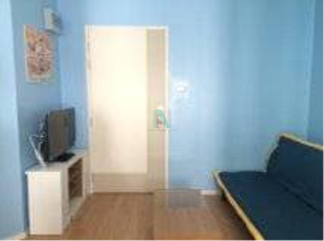 NOPPON REAL ESTATE CO.,LTD. Agency's For rent Lumpini Ville Onnut-Ladkrabang 1 bedroom 4th floor Building A. 1