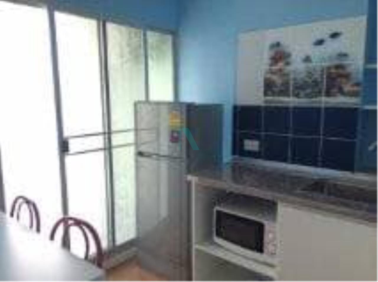 NOPPON REAL ESTATE CO.,LTD. Agency's For rent Lumpini Ville Onnut-Ladkrabang 1 bedroom 4th floor Building A. 2