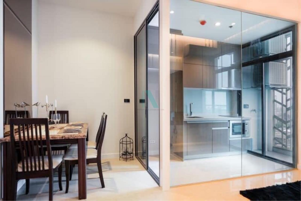 NOPPON REAL ESTATE CO.,LTD. Agency's For rent Mayfair Place Sukhumvit 50 1 bedroom 10th floor Building B. 4