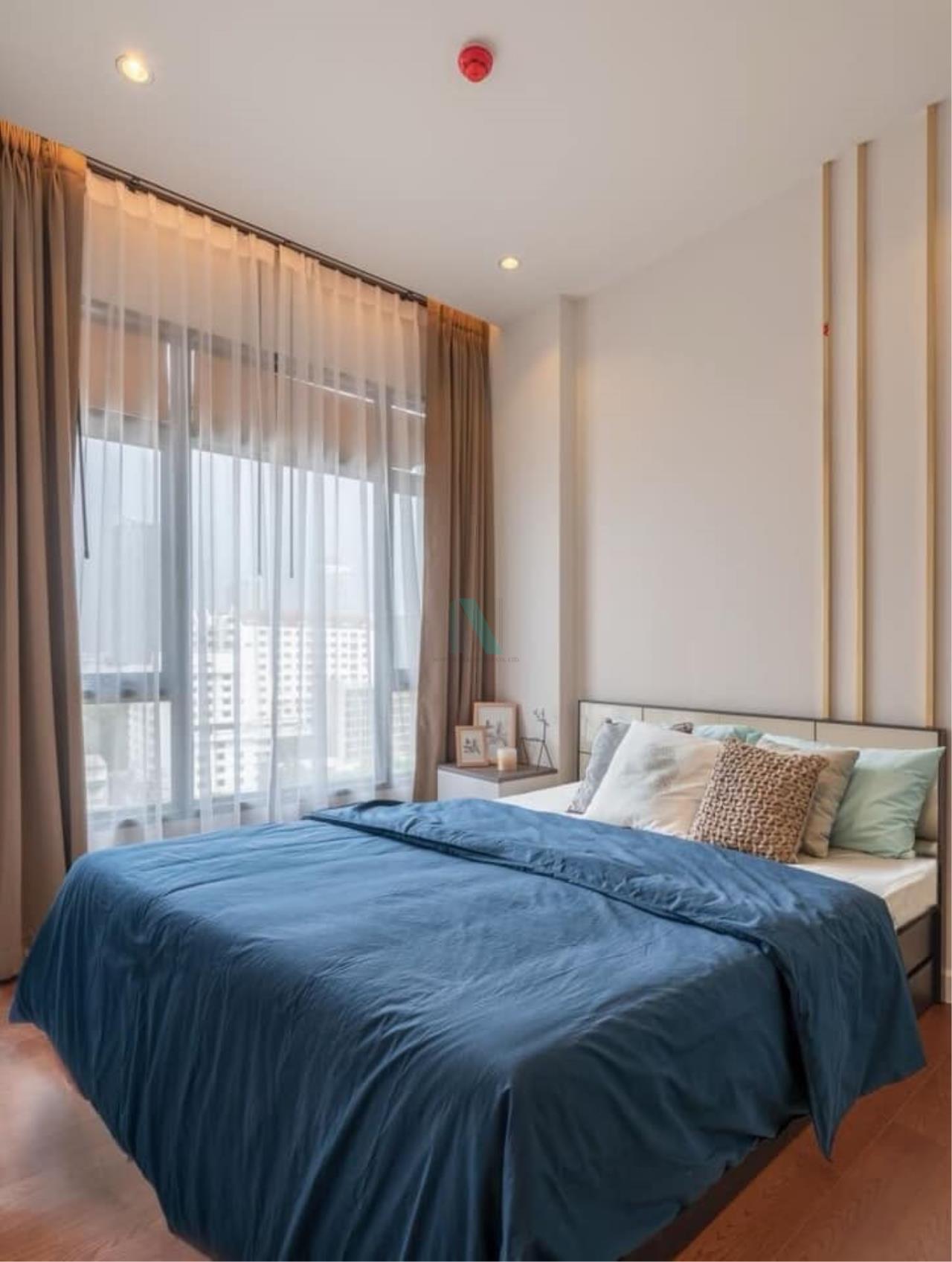 NOPPON REAL ESTATE CO.,LTD. Agency's For rent Mayfair Place Sukhumvit 50 1 bedroom 10th floor Building B. 1