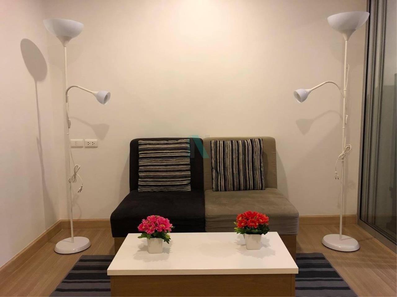 NOPPON REAL ESTATE CO.,LTD. Agency's For Rent The Niche ID Bang Khae 1 Bedroom Floor 3 Building B. 1
