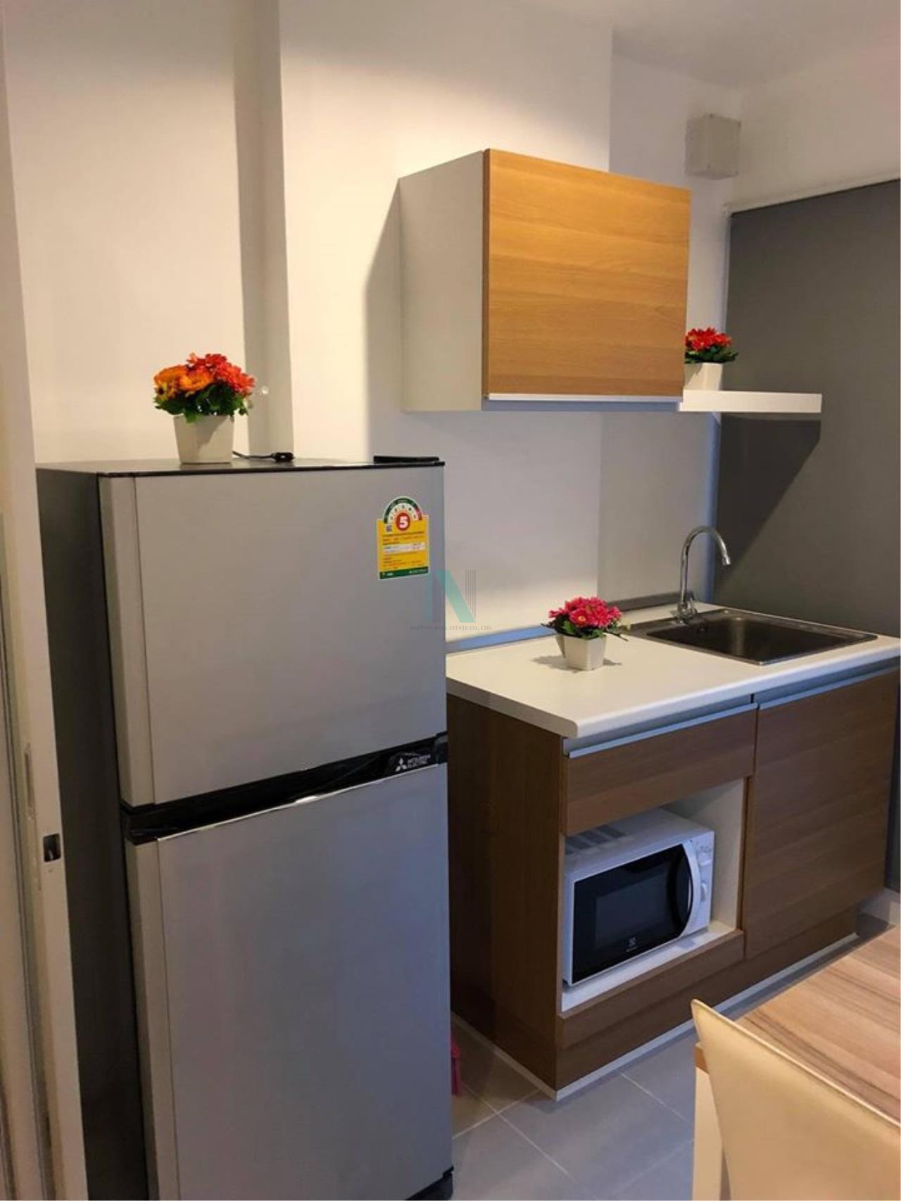 NOPPON REAL ESTATE CO.,LTD. Agency's For Rent The Niche ID Bang Khae 1 Bedroom Floor 3 Building B. 3