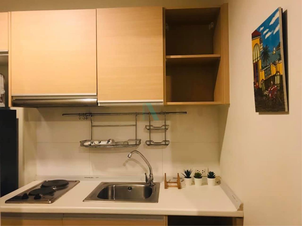 NOPPON REAL ESTATE CO.,LTD. Agency's For rent Rhythm Ratchada 1 bedroom Floor 12A Building B. 2