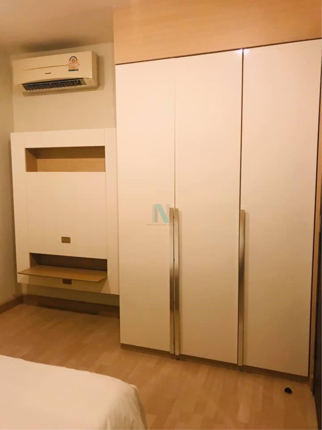 NOPPON REAL ESTATE CO.,LTD. Agency's For rent Rhythm Ratchada 1 bedroom Floor 12A Building B. 4