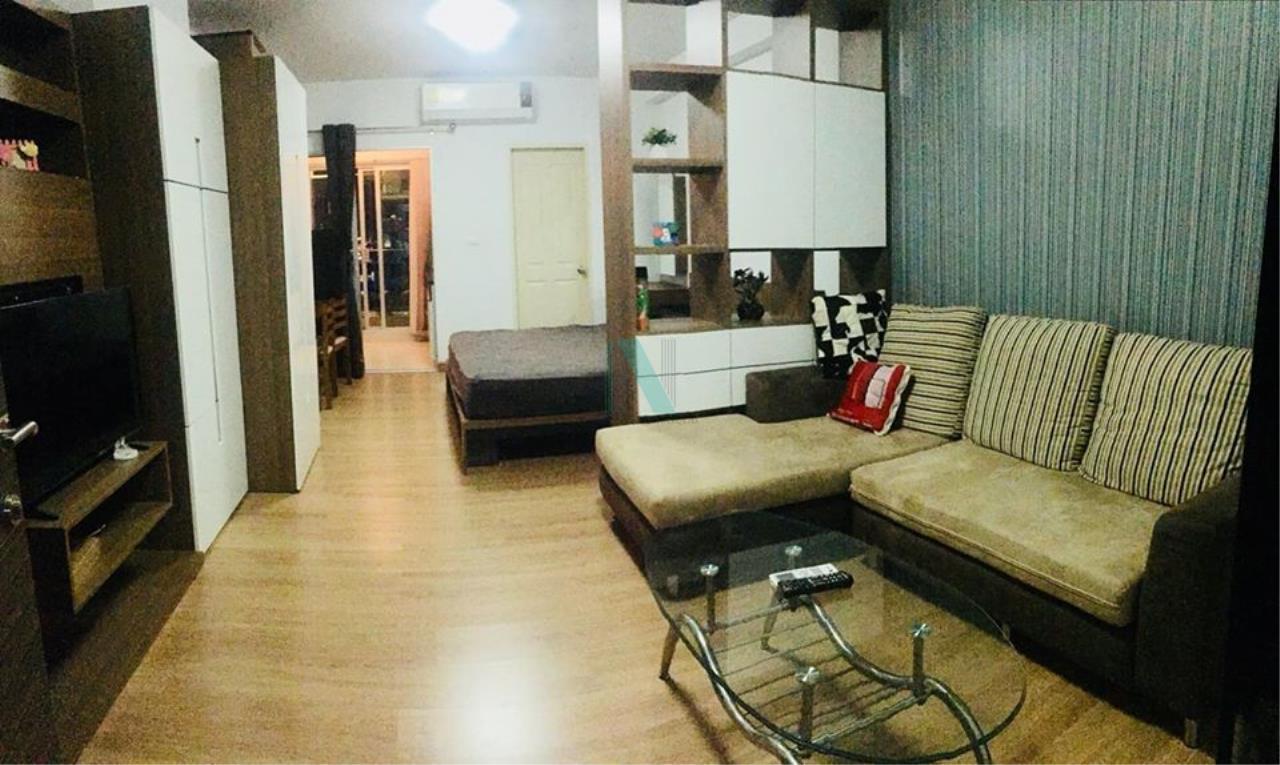 NOPPON REAL ESTATE CO.,LTD. Agency's For Rent Supalai Park Asoke-Ratchada STUDIO 24th floor near MRT Rama 9. 1