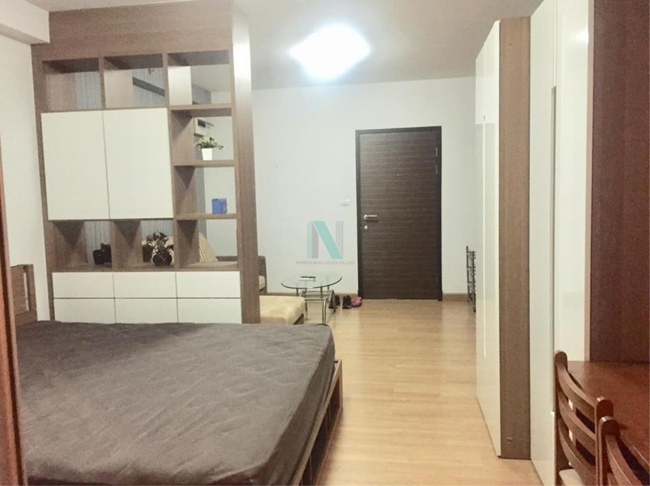 NOPPON REAL ESTATE CO.,LTD. Agency's For Rent Supalai Park Asoke-Ratchada STUDIO 24th floor near MRT Rama 9. 2