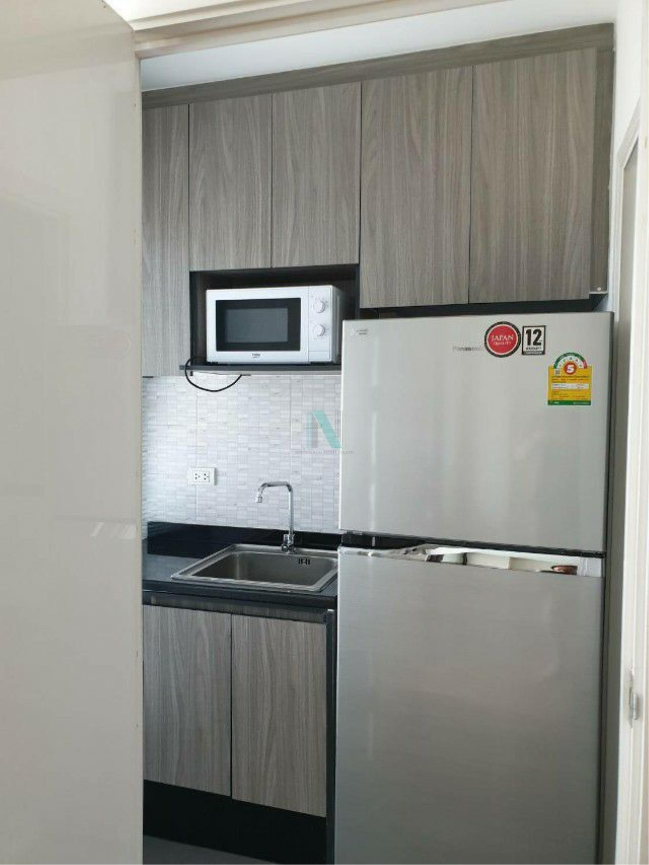 NOPPON REAL ESTATE CO.,LTD. Agency's For Rent The Tree Rio Bang O Station 1 bedroom 8th floor. 6