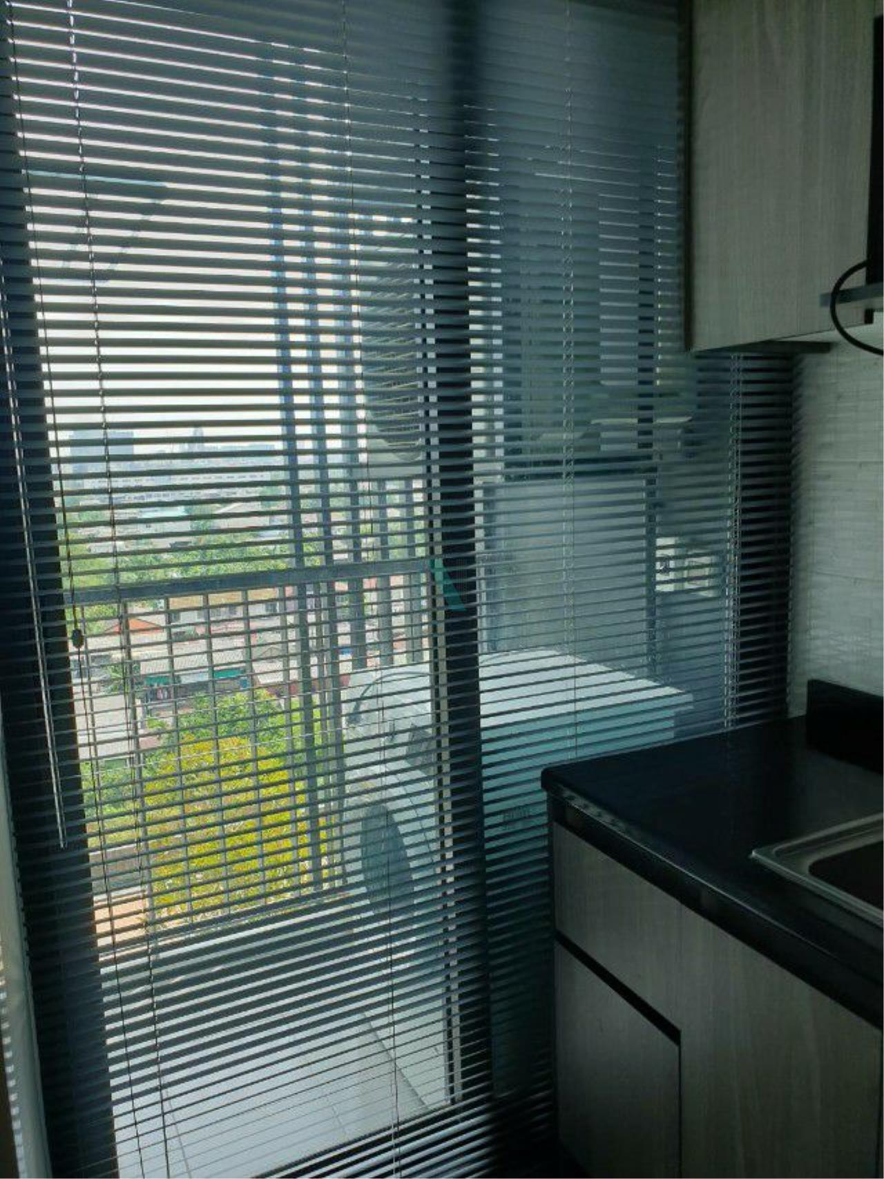 NOPPON REAL ESTATE CO.,LTD. Agency's For Rent The Tree Rio Bang O Station 1 bedroom 8th floor. 8