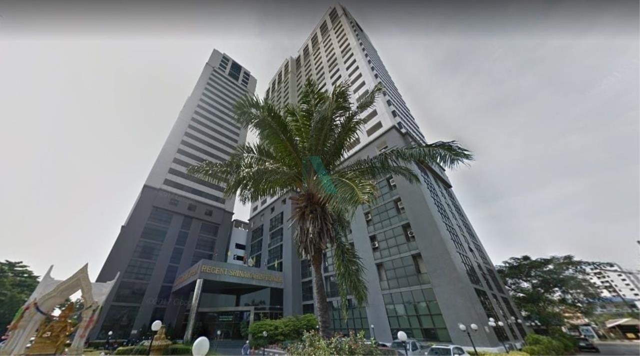 NOPPON REAL ESTATE CO.,LTD. Agency's For rent Regent Srinakarin Tower 1 bedroom 15th floor Tower A. 6