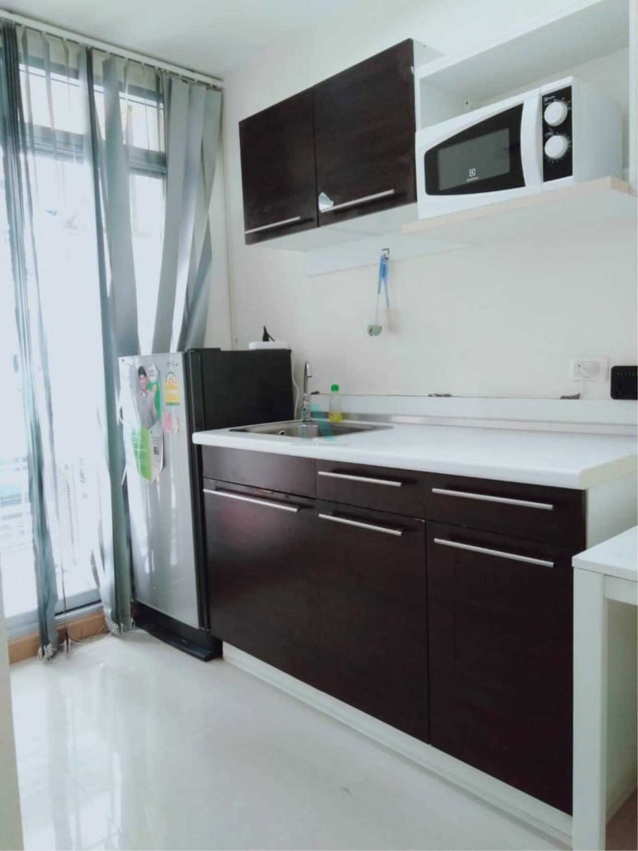 NOPPON REAL ESTATE CO.,LTD. Agency's For rent The Link Sukhumvit 50 1 bedroom 3rd floor Link 2 building. 3