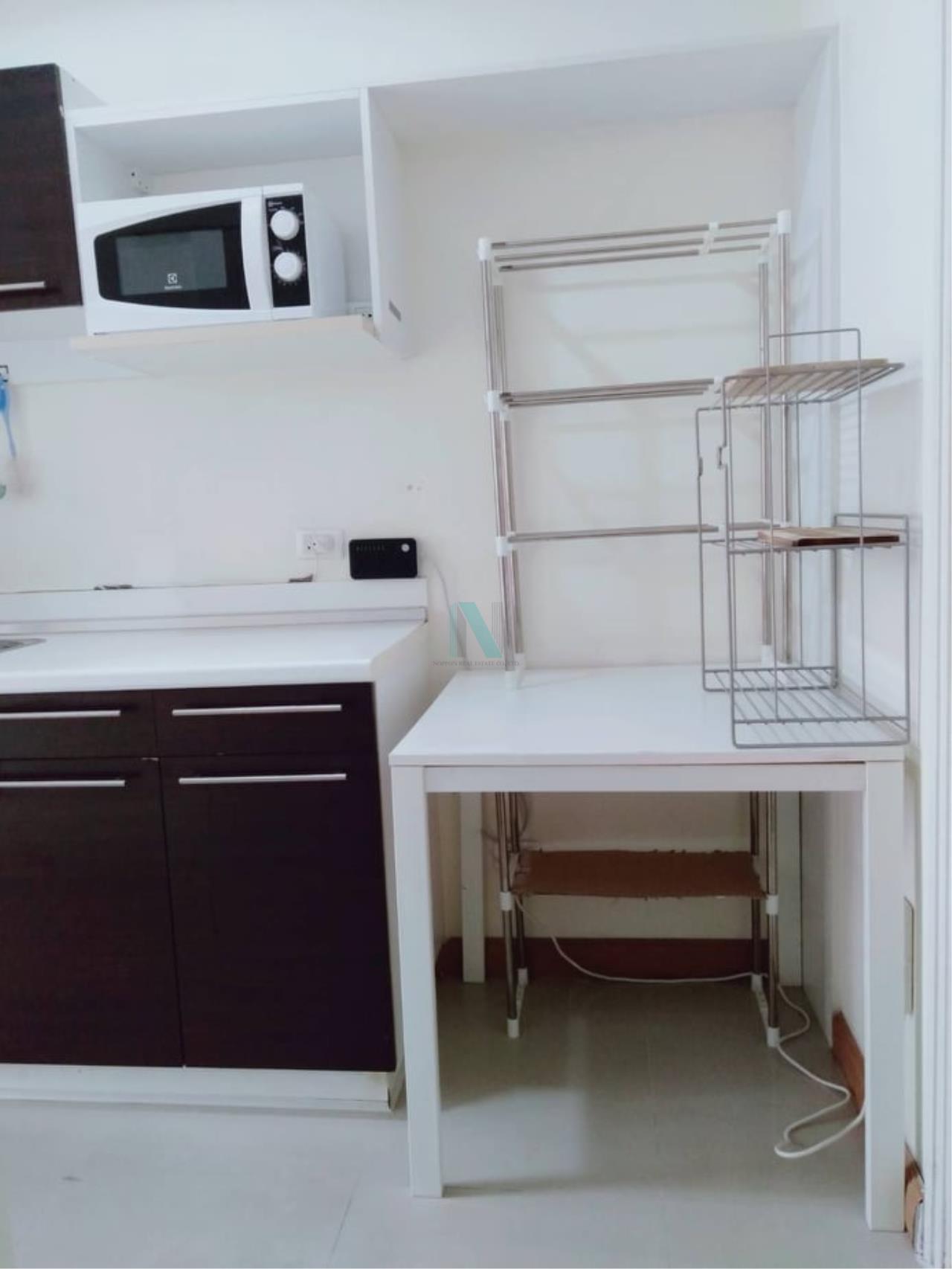 NOPPON REAL ESTATE CO.,LTD. Agency's For rent The Link Sukhumvit 50 1 bedroom 3rd floor Link 2 building. 5