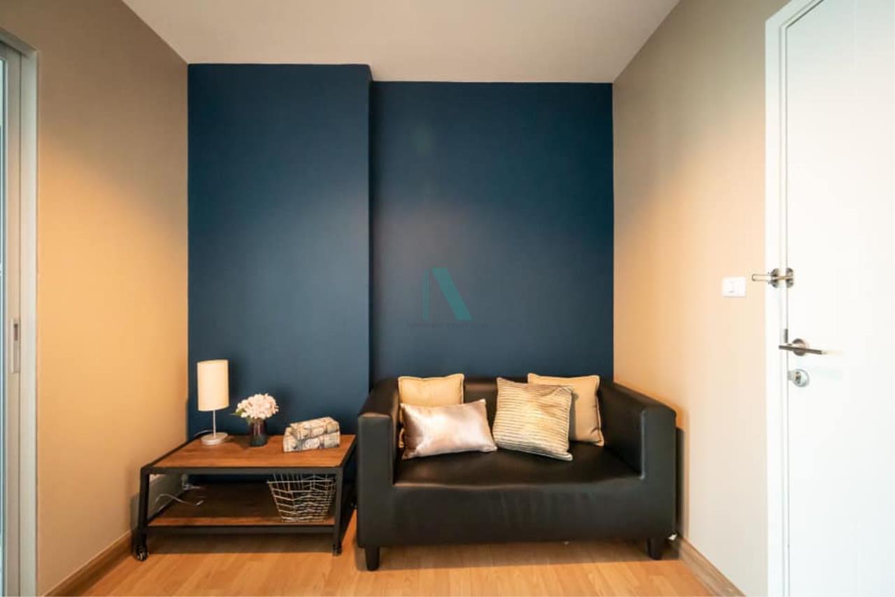 NOPPON REAL ESTATE CO.,LTD. Agency's For rent Aspire Rama 4 1 bedroom Floor 16 A Building  . 1
